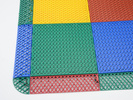 幼儿园镂空式悬浮塑胶防滑地板 篮球场镂空塑料拼装地板 漏孔塑胶拼装式运动地板