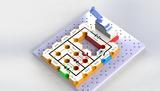新能源电子积木实验玩具diy科学物理电学实验 手摇发电
