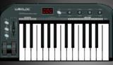 worlde沃尔特25键MIDI键盘