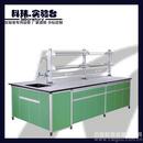 广州科玮实验台 铝木中央台 实验室家具厂家直销