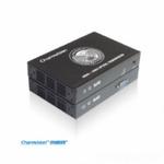 创威视EVO-1V,单模单纤VGA音视频光端机,VGA光纤传输器带音频