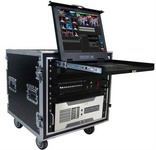真三维移动箱载虚拟演播室
