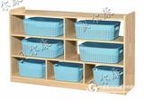 幼儿园课室分区柜