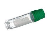 Greiner冻存管2ml(圆底,绿色,外旋,可立,灭菌)货号:126277