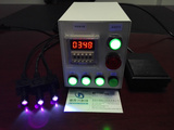 水晶制品廠玻璃小擺件的部件黏合固化專用UVLED點光源光固機