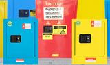 车间实验室酒精天拿水存放柜 加厚密封处理 红蓝黄三色可选