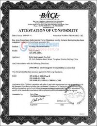 OMNI(谱王)系列光谱仪通过EMC认证