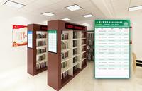AI新上架書展示系統  方便采購高頻熱門書籍