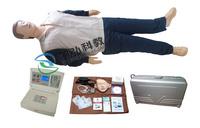 ZH-CPR580高级中屏幕液晶自动电脑心肺复苏模拟人,成人急救橡皮人