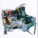 YL-QSK汽车发动机解剖模型