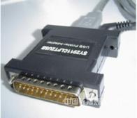 DB-25PIN并口转USB接口转换器