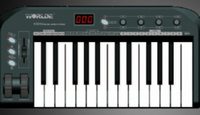 worlde沃爾特25鍵MIDI鍵盤