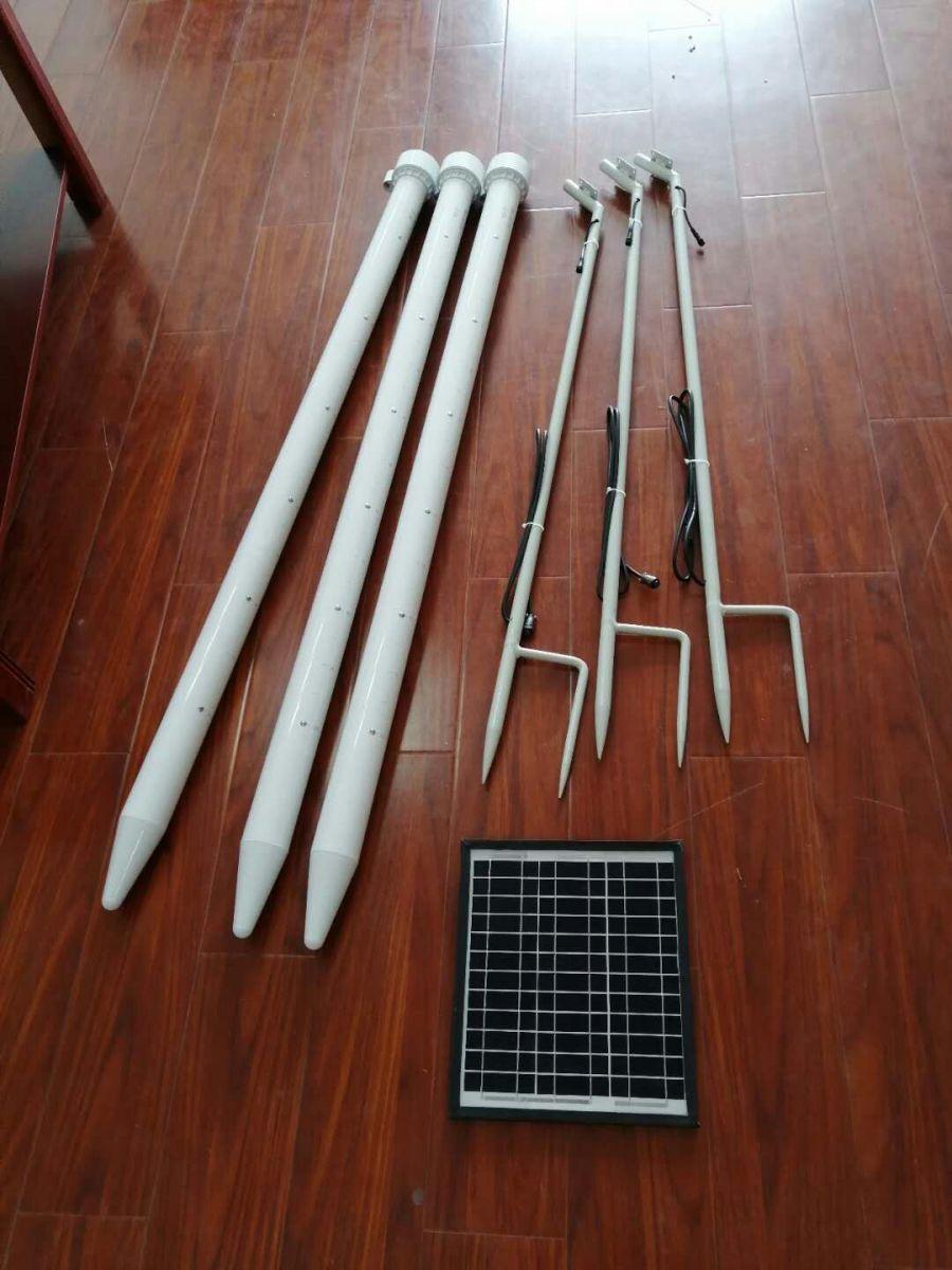 在线土壤墒情监测站/非接触式土壤水分测量仪/管式水分温度测定仪