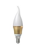 馬歇爾蠟燭燈自然光節能燈泡e14螺口球泡暖白光照明家用led球泡燈