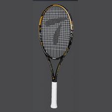 天龙【Teloon】天龙网球拍全碳素一体初学男女学生成人套装 土豪金 SPACE XIV