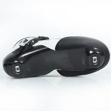 【美洲狮COUGAR】SR3儿童专业速滑鞋成人竞速鞋碳纤鞋壳可热塑男女速滑鞋 白色