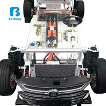 汽車教具 汽車教學實訓設備 比亞迪混合動力底盤智能網聯互動系統 汽車教具廠家