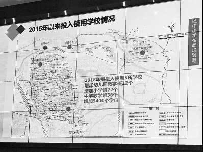 郑州今年拟投入使用中小学校30所