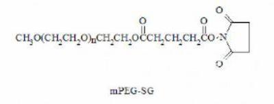 mPEG-Succinimidyl Glutarate,甲氧基聚乙二醇-琥珀酰亚胺戊二酸酯,MPEG-SG