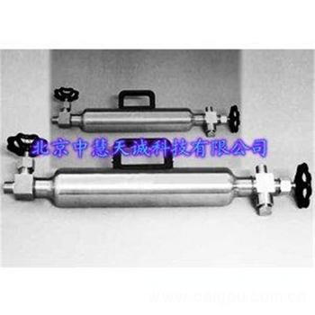 液化石油气取样器/液化石油气采样钢瓶 型号:YHQ-100