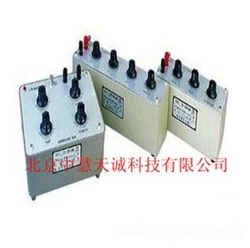十进式电容箱 型号:DZ/RX7-N5A