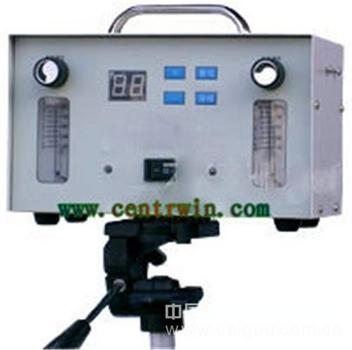 现场气体检测仪/环境实验室双路大气采样器 型号:NXJZK-3S