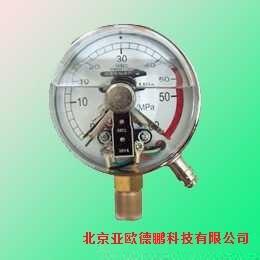 不锈钢耐震电接点压力表/耐震电接点压力表 /压力表