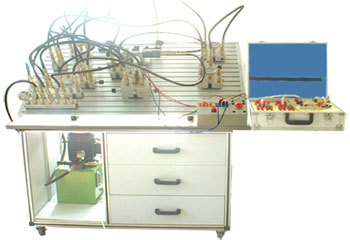 液压中级训练及技能鉴定实习设备
