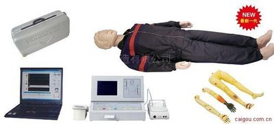 KAD/CPR600S-C大屏幕液晶彩显高级全自动电脑心肺复苏模拟人(IC卡管理软件)2012新品