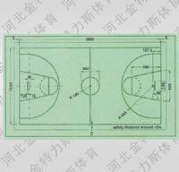篮球场标准界限和尺寸