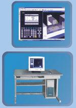 网络型数控车、铣编程学习系统(西门子与法那科系统)
