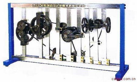 轮系创新设计拼装及仿真实验台