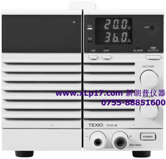 日本德士(TEXIO)PS36-10稳压直流电源
