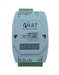 供应RJ45数据采集模块DAM-E3070D