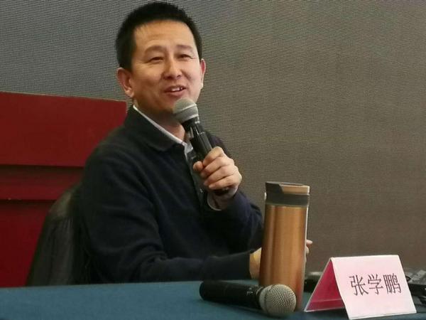 华文众合硬笔专家张学鹏赴硬笔协会讲座