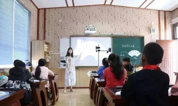 华文众合智慧书法教室助力浙江小沙中心小学智慧课堂研讨活动