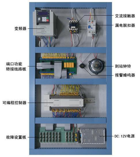 六层透明仿真教学电梯模型