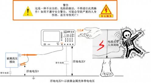 高压差分测量电路