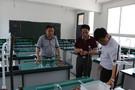 景德镇市装备站深入市直学校调研电教装备建设情况
