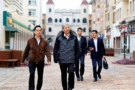 中国教育学会会长到西亚斯国际学院参观指导