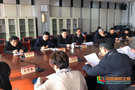 齊魯師范學院召開第二屆一次教代會暨工代會代表團團長聯席會議
