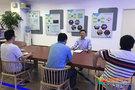 """成都师范学院岳正华副校长到网络与信息中心检查指导《""""智慧教育""""改革试点》项目研究工作"""