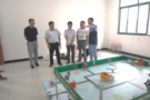 安徽省教育技术装备中心来马鞍山检查装备管理应用创新校建设工作