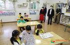 西南大学李旭锋书记带队检查实验幼儿园复学工作