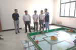 安徽省教育技术装备中心来我市检查装备管理应用创新校建设工作