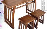 书法桌国学桌椅实木国学课桌