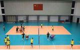排球运动地胶 排球塑胶地板