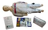 XB/CPR150高级儿童心肺复苏训练模拟人 少儿CPR急救模拟人