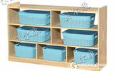 幼兒園課室分區柜