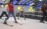 健身房滑雪机 儿童训练室内滑雪机 江苏室内模拟滑雪机厂家